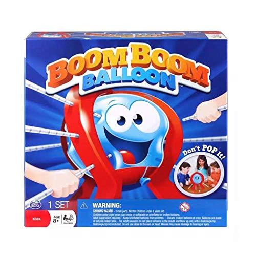 Elenxs Regalo cumpleaños plástico Tabla Boom Balloon