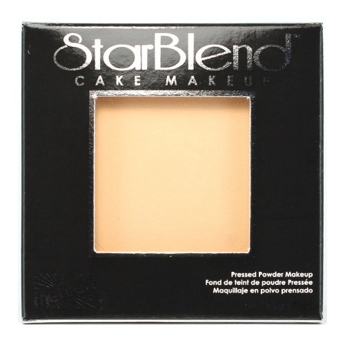 (3 Pack) mehron StarBlend Cake Makeup Light Buff