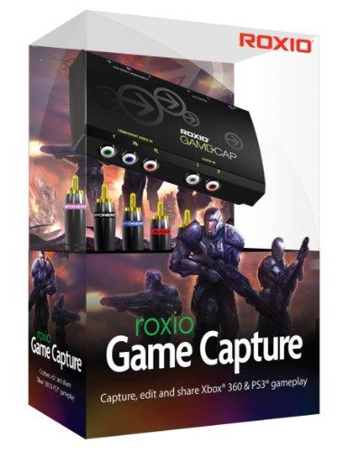Roxio Game Capture - Capturadora juegos (Xbox 360/PS3), negro