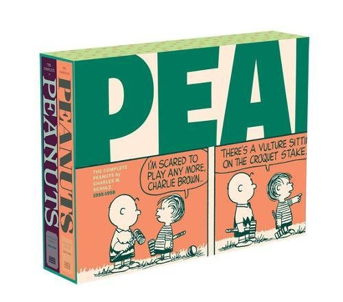 The Complete Peanuts 1955-1958: Gift Box Set Paperback Edition