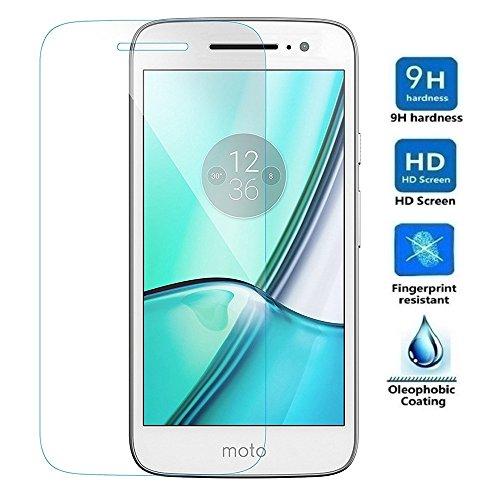 Electrónica Rey Protector de Pantalla para Motorola Moto M, Cristal Vidrio Templado Premium