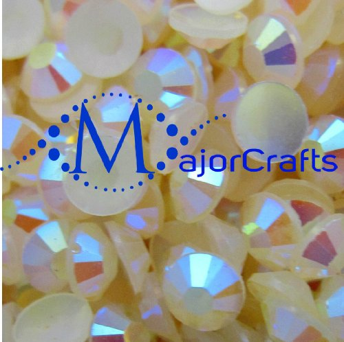 majorcrafts-1000pcs-3mm-ss12-cream-ivory-ab-flat-back-resin-rhinestones-beads-gems