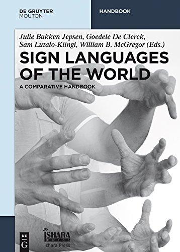 Sign Languages of the World: A Comparative Handbook (De Gruyter Handbook) (English Edition)