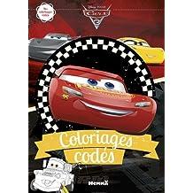 Cars 3 - Coloriages codés