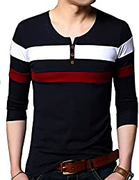 Seven Rocks Men's Cotton Multiple Stripe T-Shirt