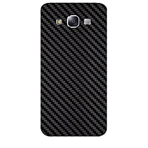 Skin4gadgets Black Carbon Fiber Texture Phone Skin for SAMSUNG GALAXY E5 (E500 )