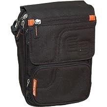 Elite Bags - Bolsa bandolera para diabéticos, Color negro