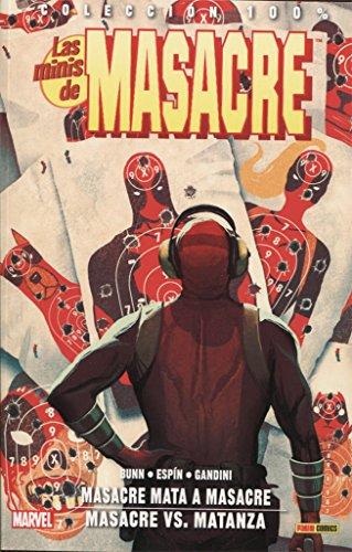 Las minis de Masacre 3 editado por Panini comics