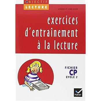 Exercices d'entraînement à la lecture, CP