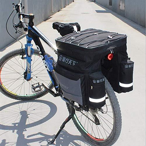 FDSEQ Fahrradtasche Mountainbike-Rückentasche Fahrrad-Reitausrüstung Three-in-One, Regaltasche