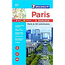 Plan Paris & Banlieue, par Arrondissement et 30 Communes (Relie)