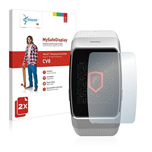 Vikuiti 2X Bildschirmschutzfolie CV8 von 3M kompatibel mit MyKronoz ZeWatch 4 Schutzfolie Folie