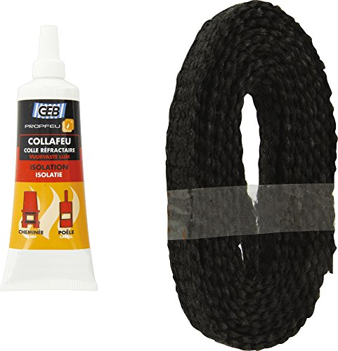Kit tresse plate 15 mm x 2.5 m + colle