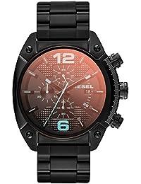 Diesel Reloj Hombre de Analogico con Correa en Chapado en Acero Inoxidable DZ4316