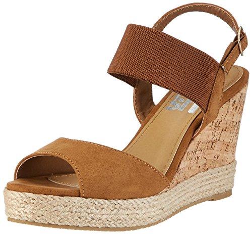 Refresh 63575, Zapatos De Plataforma Mujer Marrón (camel)