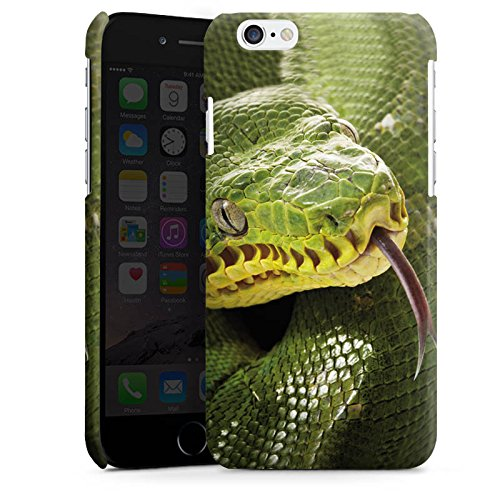 Apple iPhone 4 Housse Étui Silicone Coque Protection Couleuvre Serpent Serpent Cas Premium brillant