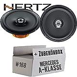Hertz DCX 165.3-16cm Koax Lautsprecher - Einbauset für Mercedes A- JUST SOUND best choice for caraudio