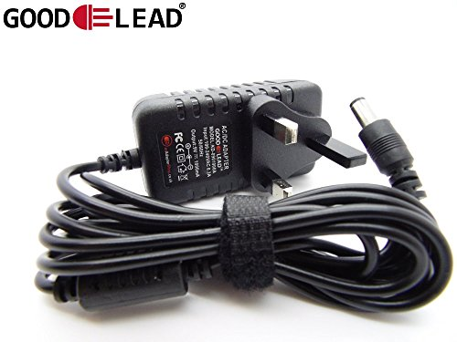 GOOD LEAD DC 9 0V 5 0W AC Adapter For AD 5 Casio 210 Sound Tone Bank
