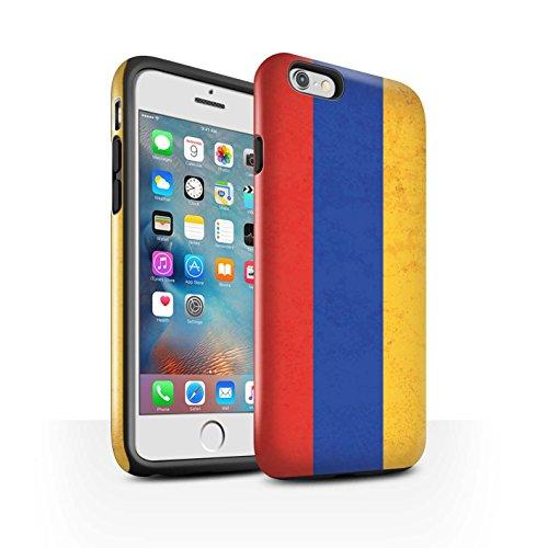 STUFF4 Glanz Harten Stoßfest Hülle / Case für Apple iPhone 8 Plus / Kuwait Muster / Asien Flagge Kollektion Armenien/Armenisch