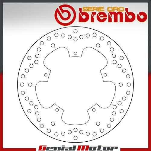 68B407B7 Bremsscheibe Fest Brembo Hinten Beverly Tourer Euro3 300 2009 > 2012 -