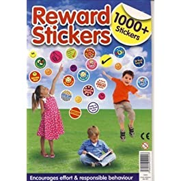 1000 + Childrens Reward Chart Smiley Face Well Done Stickers