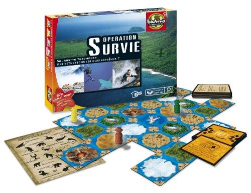 Bioviva - 101005105 - Jeu éducatif - Opération Survie