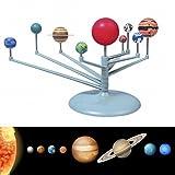 Edealing (TM) DIY Kinder Geschenk Sonnensystem Himmelskörper Planeten Planetarium Modell Gebäude Kit Astronomie Wissenschaft Pädagogische Spielzeug