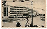 1937 Venezia Piazzale Roma MOTTA AGIP auto d'epoca radiale P B/N VG ANIM Cartolina Postale