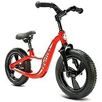 Balanza De Bicicletas, Kid Glide Bike 12 Pulgadas [Edades De 2 A 6 Años] Marco De Aleación De Magnesio Ligero [Manillar Plegable] No Pedal De Deporte Al ...