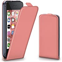 OneFlow PREMIUM - Flip-Case - per Apple iPhone 5 / 5S - CORAL-ROSE