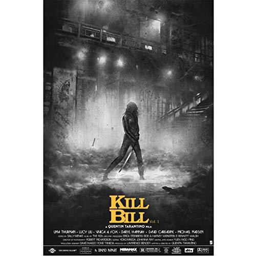Taoyuemaoyi Impresiones Película Clásica Kill Bill