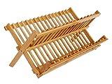 DaoRier 16 Gitter-Ablauf Rack Tellerständer Geschirrtrockner Lagerung Teller Abtropfgestell für die Küchenspüle