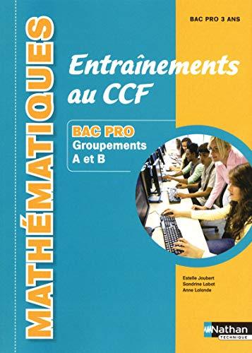 Mathématiques -Entraînements au CCF