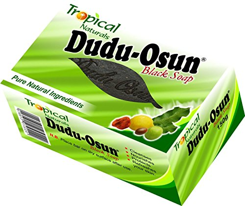Dudu Osun 150 g Tropical Pure Natural African Black Soap - Pack of 6