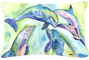 Tissu Toile décorative de dauphin