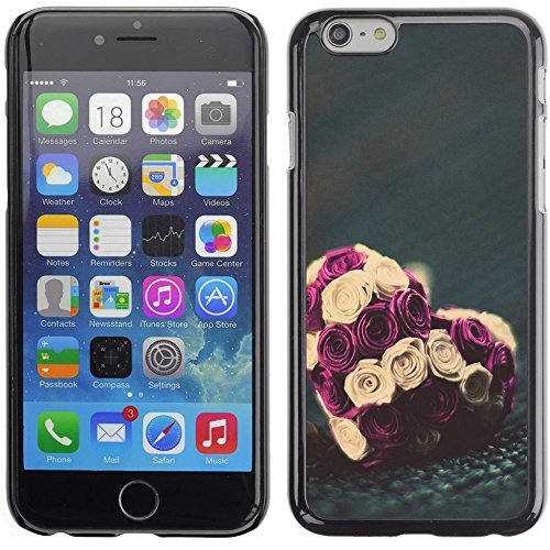 Graphic4You Art Hearts Design Harte Hülle Case Tasche Schutzhülle für Apple iPhone 6 Plus / 6S Plus Design #14
