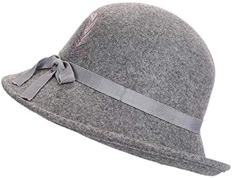 JunBo Versione Coreana del di Cappello di del Lana Calda pentola Cappello  Moda Ricamo Parent 1445f5 67dc295c5502
