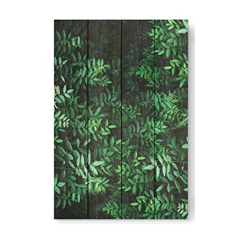 "artboxONE Holzbild 60x40 cm Festivals ""Tropical Forest"" von Künstler Sail and Swan"