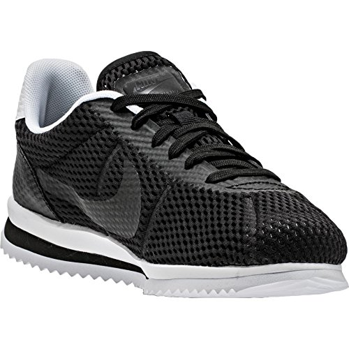 Nike Herren Cortez Ultra BR Turnschuhe, Schwarz/Schwarz-Weiß, 46 EU (Schwarz Cortez Nike Weiß)