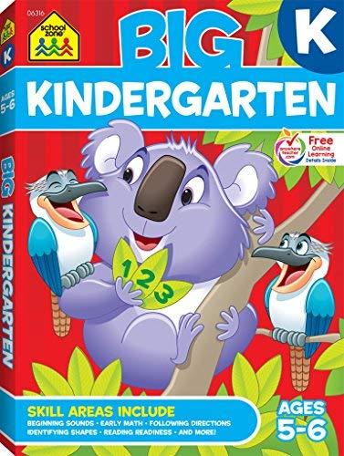 Big Kindergarten Workbook by Barbara Gregorich (1997-07-01)