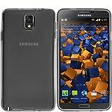mumbi Schutzhülle für Samsung Galaxy Note 3 Hülle transparent schwarz