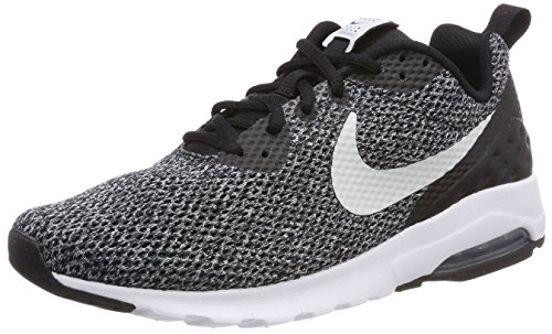Nike Herren Air Max Motion LW SE Sneaker, Schwarz (Black/Pure Platinum/Dark Grey 010), 45 EU (Nike Air Max Motion)