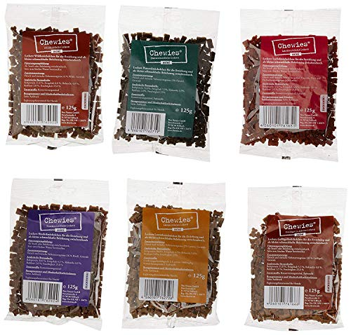 Chewies - Lot de 6 friandises pour Chien - Multipack 3-750 g