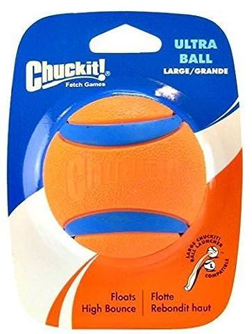 Chuckit Ball Ultra Large 7.3cm, 1 par paquet, Ultra Jouet