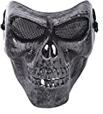 #8: Prime Traders Skull Face Party Mask, PT0061