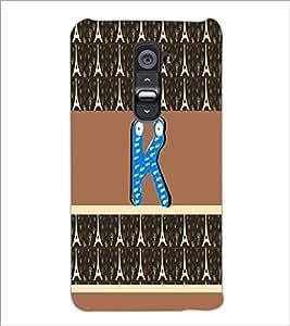 PrintDhaba GRANDbet K D-3391 Back Case Cover for LG G2 (Multi-Coloured)