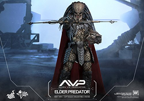 Hot Toys ht9025671: 6Escala Elder Predator Figura 3