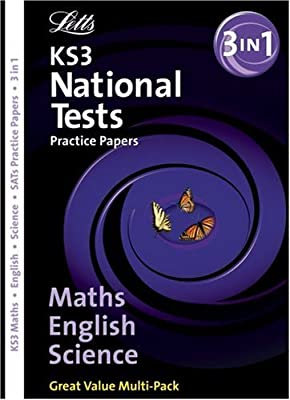 Letts Key Stage 3 Practice Test Papers – KS3 English, Maths & Science Bind-Up National Test Practice Papers from Letts