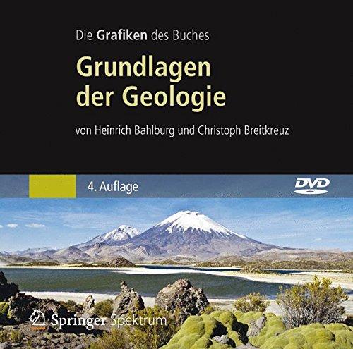 Bild-DVD-ROM, Bahlburg/Breitkreuz, Grundlagen der Geologie: Alle Grafiken des Buches