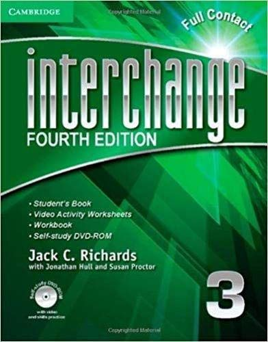 Interchange 4th  3 Full Contact with Self-study DVD-ROM (Interchange Fourth Edition)